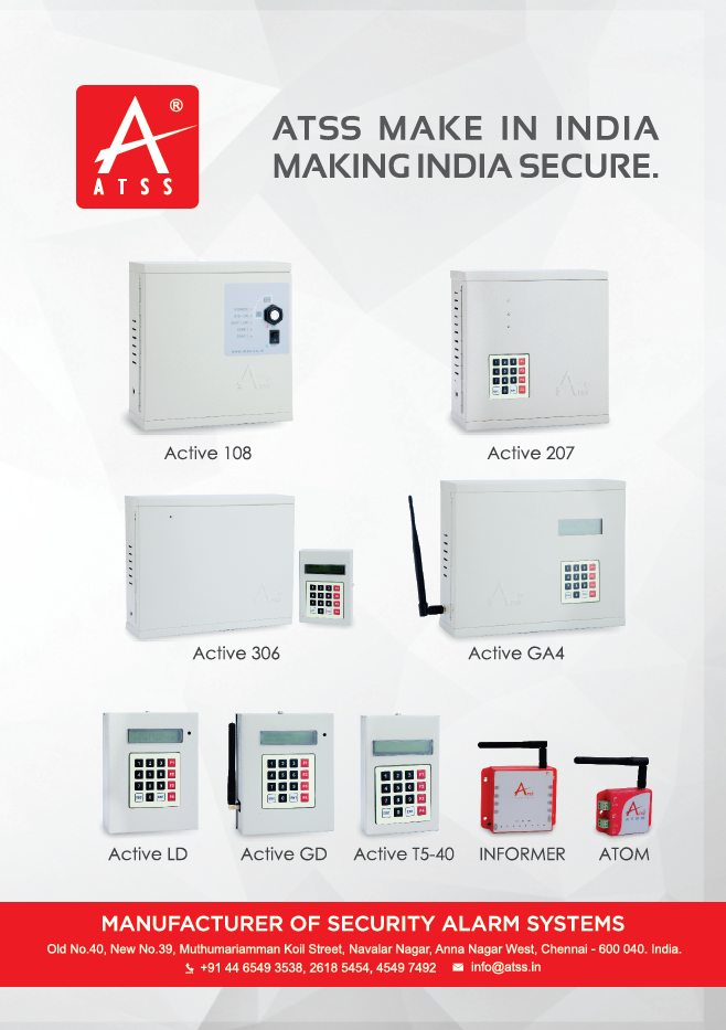 Security Alarm Products Manufacturer Atss Chennai India